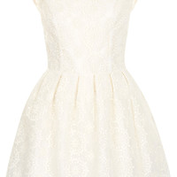 Embroidered Prom Dress - Dresses - Clothing - Topshop USA