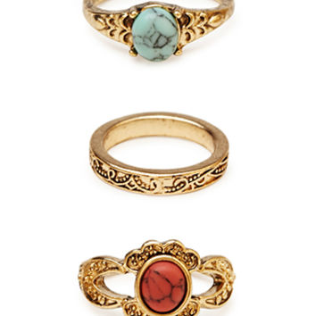 Treasure Chest Ring Set