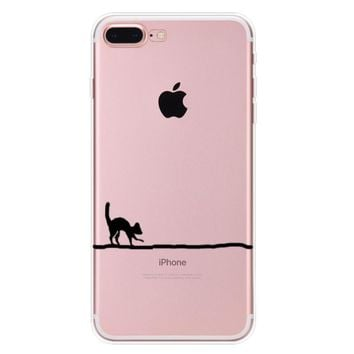 you can t see me cat case for iphone 7 7plus iphone se 5s 6 6 plus high quality cover gift box 90  number 1