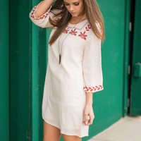Oh So Boho Tunic, Cream