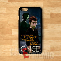 Peter pan once upon a time quotes from him -lest for iPhone 6s | iPhone 5s | iPhone 6 | iPhone 4S