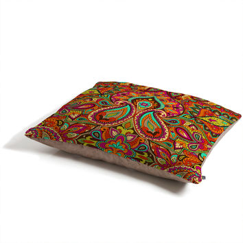 Aimee St Hill Paisley Orange Pet Bed