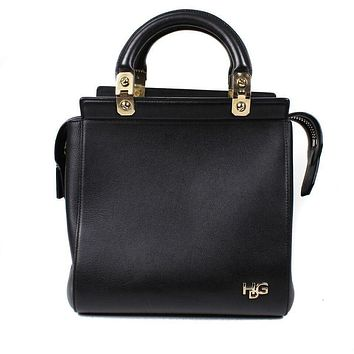Givenchy Shoulder Bag Tote Large HDG Black Leather