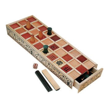 WE Games Wood Senet Game - An Ancient Egyptian Board Game '