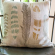 ModCloth Dorm Decor Ties the Plume Together Pillow