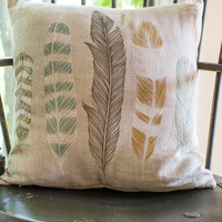 Dorm Decor Ties the Plume Together Pillow by ModCloth
