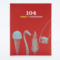 104 Things to Photograph Book - Urban Outfitters