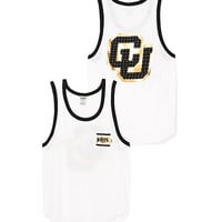 University of Colorado Bling Boyfriend Pocket Tank - PINK - Victoria's Secret