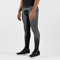 Icarus Gray and Black Compression Tights / Leggings