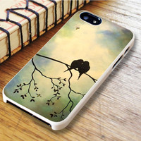 Birds In Tree Branch Art Painting iPhone 6 Case