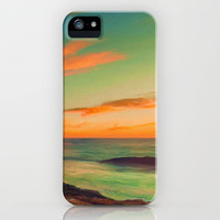Sea and Sky iPhone Case by Joel Olives | Society6