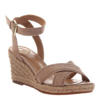 Espadrille Wedges by Madeline - Taupe