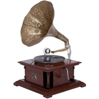 Wood Metal Gramophone An Excellent Home Decor