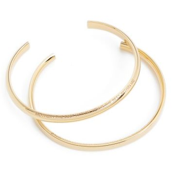 Stella Valle Mother & Daughter Set of 2 Cuffs | Nordstrom