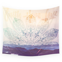 Society6 Boho Mountains Wall Tapestry