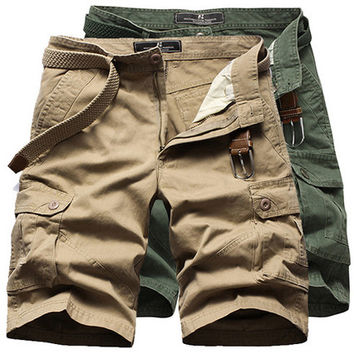 Fashion Men Cargo Shorts
