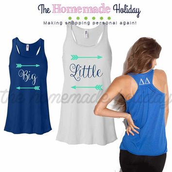 Little/big arrow tank top set