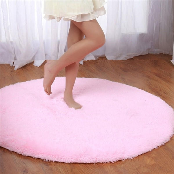 Best Round Pink Rug Products on Wanelo