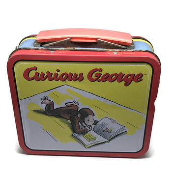 Curious George Mini Lunchbox - Limited Edition Collectible Lunch Box