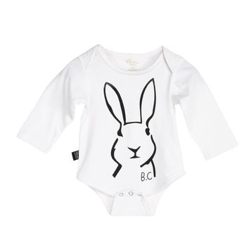 Autumn Spring Baby Clothes Baby Kids Boy Girl Rabbit Long Sleeve One-pieces Cotton Jumpsuit Romper
