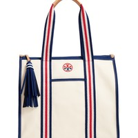 Tory Burch Preppy Canvas Tote | Nordstrom