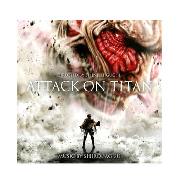 Attack On Titan Soundtrack Vinyl LP Hot Topic Exclusive