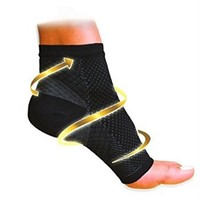 Unisex Anti-Fatigue Compression Men Socks Foot Pain Relief Soft Foot angel Magic Socks Support