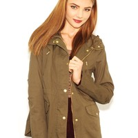 West Coast Wardrobe  Abbey Road Anorak in Olive
