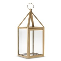 "Threshold™ 15"" Gold Lantern"