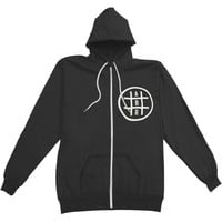 August Burns Red Men's  Shapes Zippered Hooded Sweatshirt Black
