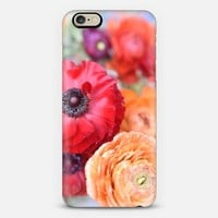 Rosey Ranunculus iPhone 6 case by Lisa Argyropoulos | Casetify