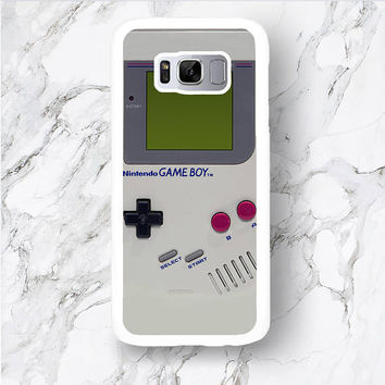 Samsung Galaxy S8 Plus Gameboy Phone Case, S8 S7 Edge Retro 80s 90s Game Boy Console, Funny S6 S5 mini cover, S4 active, for kidult ideas