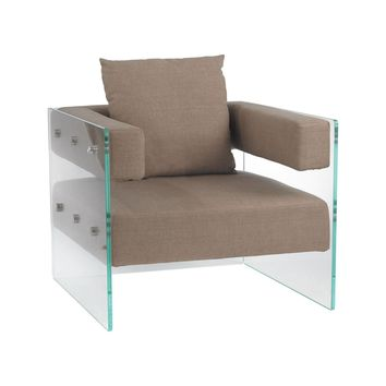 Frankfurt Chair Clear,Light Brown
