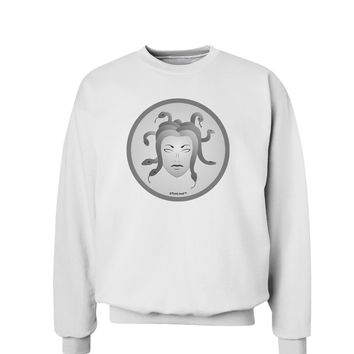 Medusa Head Coin - Greek Mythology Sweatshirt by TooLoud