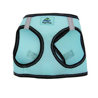 American River Top Stitch Harness — Aruba Blue
