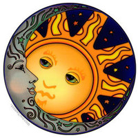 Moon Tales 2-Sided  Window Sticker on Sale for $3.99 at HippieShop.com