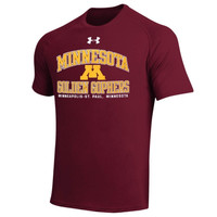 Minnesota Golden Gophers Under Armour School Mascot Tech T-Shirt – Maroon