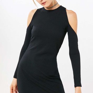 Motel Marsha Cold Shoulder Mini Dress - Urban Outfitters