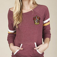 Gryffindor off the shoulder Sweatshirt