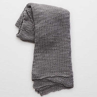 Amity Home Declan Cotton Throw , Gray