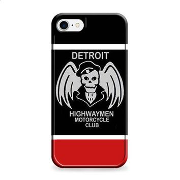 DETROIT HIGHWAYMEN MOTORCYCLE CLUB iPhone 6 | iPhone 6S case