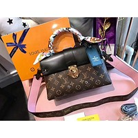 LV New Fashionable Women Shopping Leather Crossbody Satchel Shoulder Bag