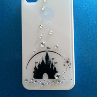 iPhone 4 and iPhone 4S Disney Castle Swarovski crystals case