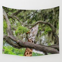 Just Minding My Own Business Wall Tapestry by Gwendalyn Abrams