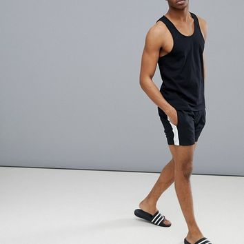 Another Influence Side Stripe Swim Short at asos.com