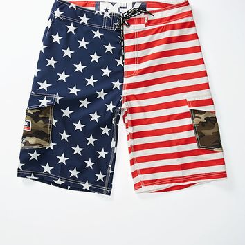 DGK Americana Boardshorts - Mens Board Shorts - Red/White/Blue
