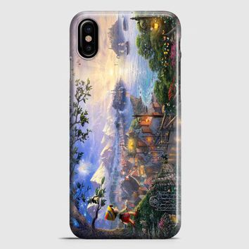 Disney Peter Pan Tink Fairy Wings Pixie Dust Bun iPhone X Case