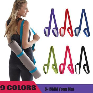 Portable Yoga Mat Sling Carry Strap