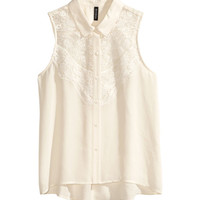 Sleeveless Blouse | Product Detail | H&M