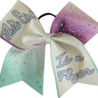 This Girl is a Flyer Ombre Rhinestone Large Cheer Bow Hair Bow Cheerleading